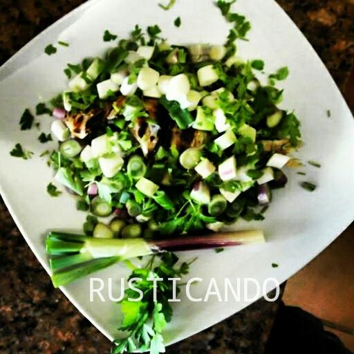 receta Mojarra cebolla escalona cadiz